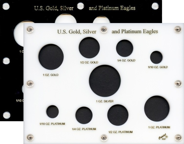 Silver, Gold and Platinum Coin Holders