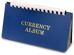 H.E. Harris Wallet Size Currency Albums