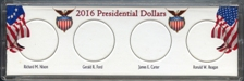 Marcus Four Coin Presidential Dollar Coin Holder