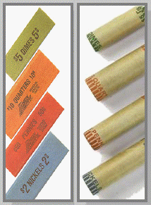Coin Wrappers - Flat and Cartridge Type