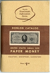 1968 William P. Donlon Catalog United States Small Size Paper Money Lloyd Hewitt
