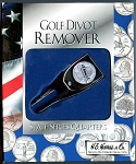Silver Plated Golf Divot Remover State Series Quarters H.E. Harris & Co.