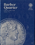 Whitman Folder Barber Quarter 1906 to 1916 Number 2 - 9016
