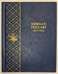Whitman Bookshelf Album #9429 - Morgan Dollars 1897-1921 - Preowned