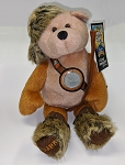 Limited Treasure CLARK Bean Bag Bear with Commemorative 2004 Peace Medal Nickel