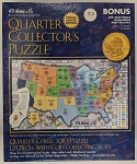 H.E. Harris Statehood Quarter Collector's Puzzle 1999-2008
