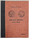 Library of Coins Album - Buffalo Nickels 1913-1938 Vol. 6