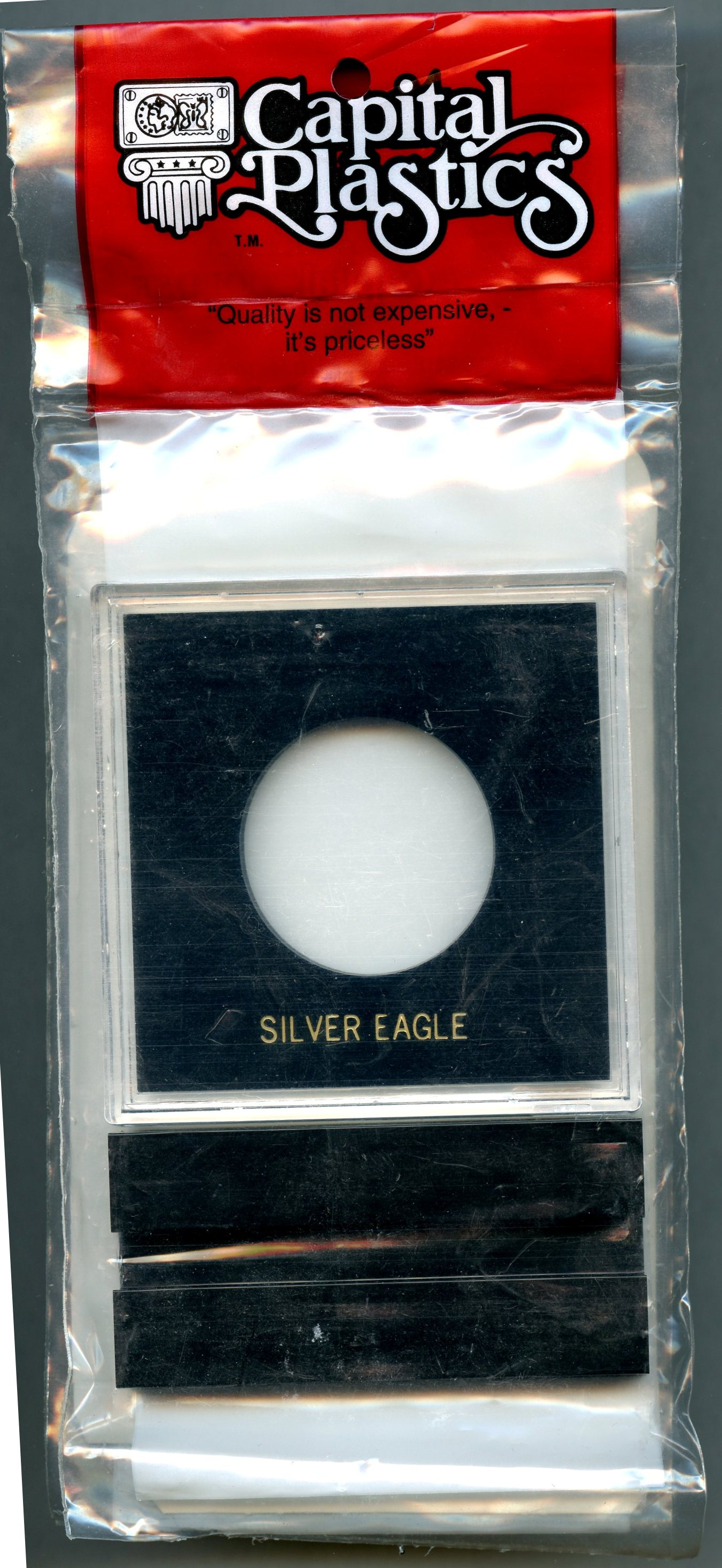 Capital Plastic Greeting Card Coin Holder You Are