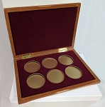 Six Coin Presentation Case Gift Box - 8 1/4