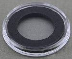 Air-Tite Coin Holder 17 mm - Black Ring