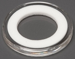 Air-Tite Coin Holder 21 mm - White Ring