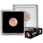 2x2 Coin Snap - BCW - Penny - Black