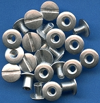 Capital Plastic - Metal Post and Screws 12 Pack