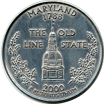 Giant 2000 Maryland Quarter