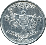 Giant 2002 Tennessee Quarter