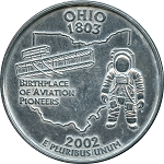 Giant 2002 Ohio Quarter