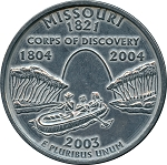 Giant 2003 Missouri Quarter