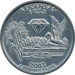 Giant 2003 Arkansas Quarter
