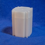 CoinSafe Square Large Dollar Coin Tube - Single Tube
