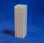 CoinSafe Square Nickel Coin Tube - Single Tube
