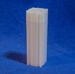 CoinSafe Square Cent Coin Tube - Single Tube