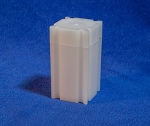 CoinSafe Square Small Dollar Coin Tube - Single Tube