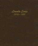 Dansco Error - Lincoln Cent Binder 1909-1958 with wrong sequence of pages inside