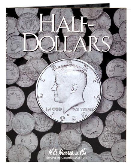 Kennedy Half Dollar Plain Folder Any Date by H.E Harris