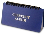 Harris (large) Wallet Size Currency Album