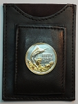 "2-Toned ""Gold & Silver"" Bahamas  ""Blue Marlin"",  Coin – (Folding) Money clips"