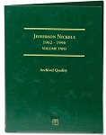 Littleton Jefferson Nickel Folder Vol. 2 1962-1996 - LCF2