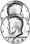 Two Headed - Kennedy Half Dollar