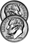 Two Headed - Roosevelt Dime