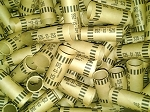 Cartridge Coin Wrappers - SMALL DOLLAR - $25.00 - 100 Count