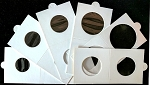 Supersafe Self Seal 2 x 2 Coin Holders - 25 Mixed holders sizes