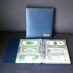 Supersafe Currency Album and Slipcase - With 20 Pages