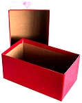Currency Storage Box For Small Size Notes - Red