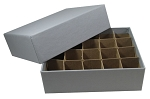 Small Dollar - Roll & Coin Tube Storage Box For 20 Rolls (26.5mm)