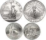 1986 Statue of Liberty  2 coin set Uncirculated