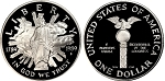 1989-S Congressional Silver Dollar Proof