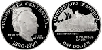 1990-P Eisenhower  Silver Dollar Proof
