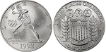 1992-D XXV Olympic  Silver Dollar Uncirculated