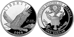 2008-P Bald Eagle Silver Dollar Proof