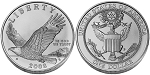 2008-P Bald Eagle Silver Dollar Uncirculated