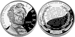 2009-P Abraham Lincoln Silver Dollar Proof