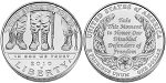 2010-W American Disabled Veterans Silver Dollar Uncirculated