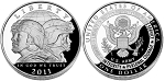 2011-P U.S. Army Silver Dollar Proof