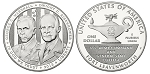 2013 Five Star Generals Silver Dollar Proof