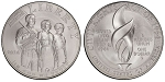 2014-P Civil Rights Act Silver Dollar Uncirculated