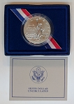 1986-P Statue of Liberty Silver Dollar Uncirculated